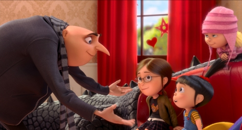 Despicable Me 2 - Gru and the girls